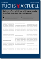Anleger-Check Edelmetall-Investments